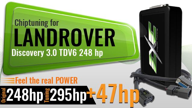 Chiptuning Landrover Discovery 3.0 TDV6 248 hp