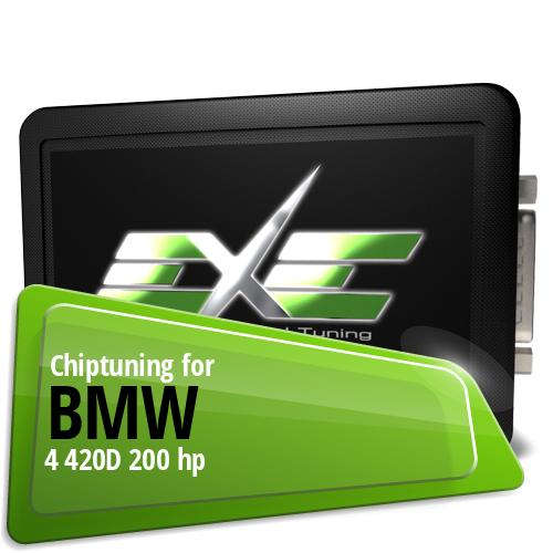 Chiptuning Bmw 4 420D 200 hp