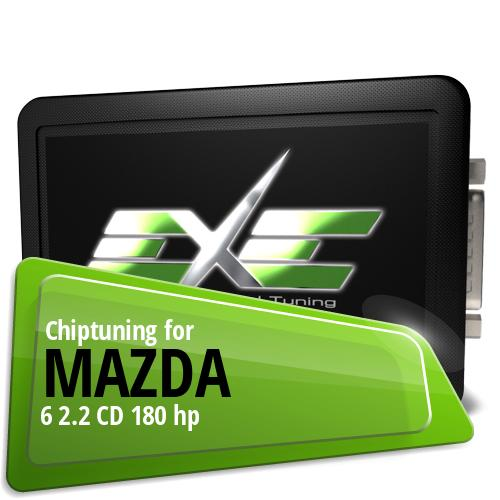 Chiptuning Mazda 6 2.2 CD 180 hp
