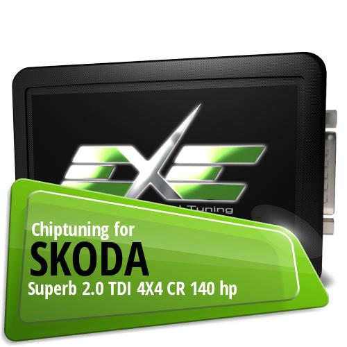Chiptuning Skoda Superb 2.0 TDI 4X4 CR 140 hp