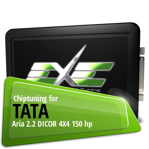Chiptuning Tata Aria 2.2 DICOR 4X4 150 hp