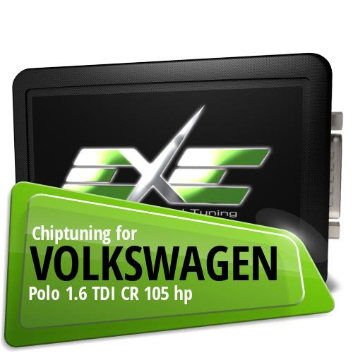 Chiptuning Volkswagen Polo 1.6 TDI CR 105 hp